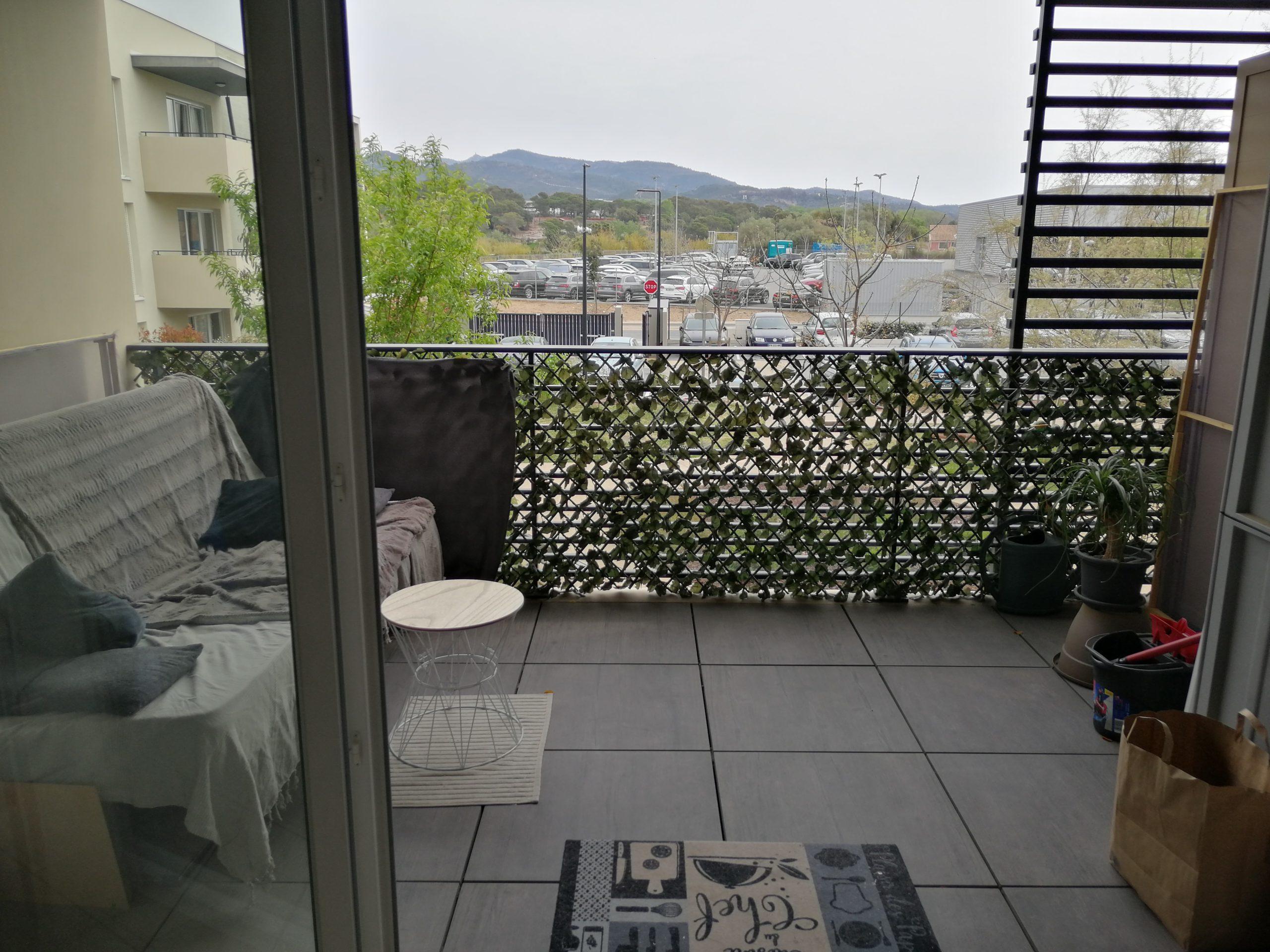 Appartement T3 avec balcon – Fréjus