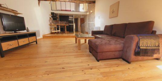 Appartement meublé T3 mansardé 52m² – Aups